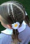 آموزش بافتن مو دخترونه