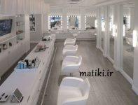 طراحی سالن زیبایی آرایشی