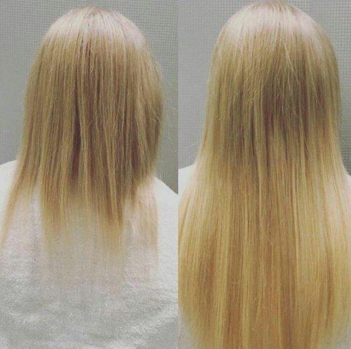 اکستنشن موی سر در آرایشگاه مشهد